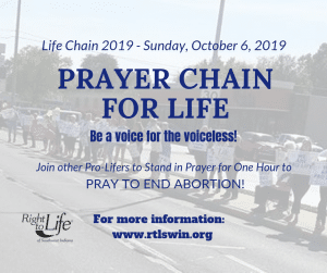 Prayer Chain for Life